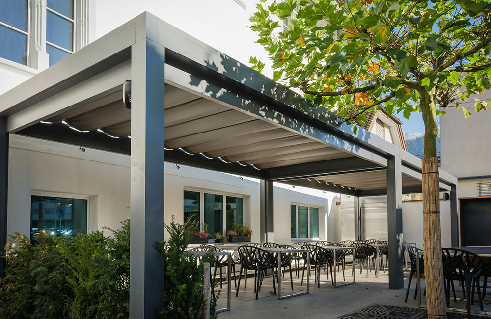 P rgolas en madrid p rgolas de aluminiop rgolas de aluminio - Pergolas de aluminio para terrazas ...