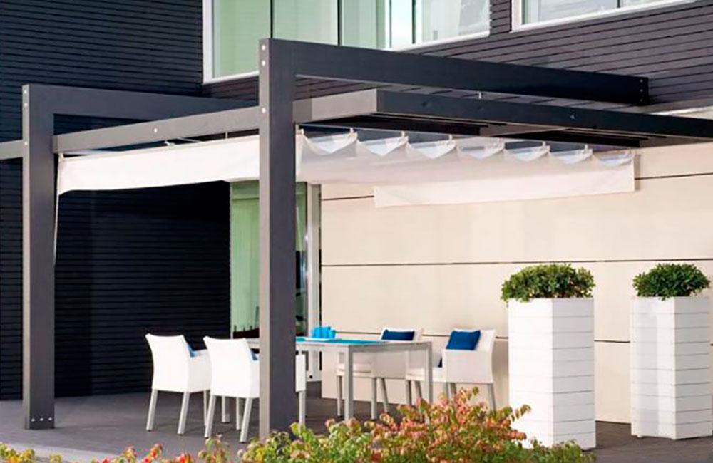 P rgolas de dise o p rgolas de aluminiop rgolas de aluminio - Pergolas de aluminio para jardin ...
